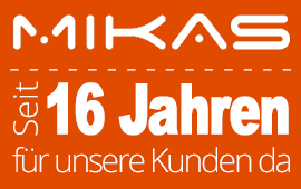Werbeagentur MIKAS ISP seit 16 Jahren für Sie da