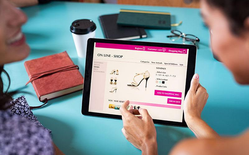Onlineshop Webdesign Start