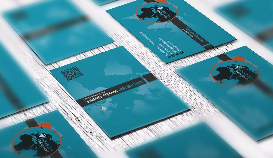 Grafikdesign Visitenkarten Printdesign