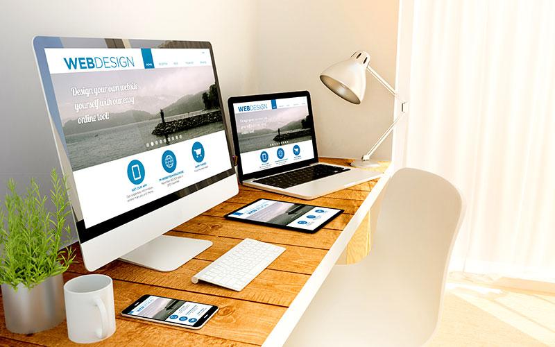 Werbeagentur Webdesign Website OnePage Homepage Webportal